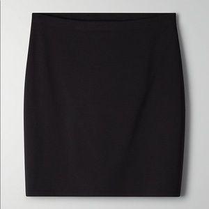 NWT Aritzia black skirt